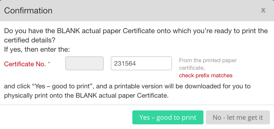 EdgeCERTS Print On Actual Certificate Paper