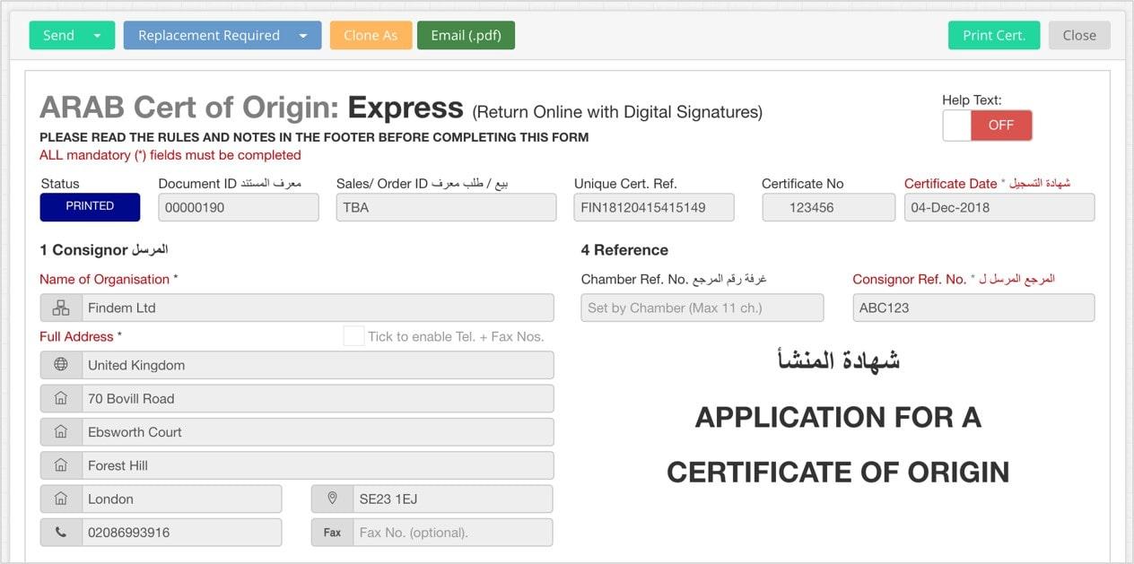 Edgectp Arab Certificate
